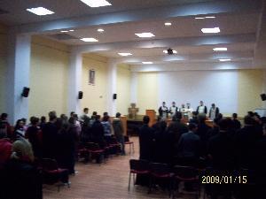 Sfintirea Apei la Seminarul Teologic Greco-Catolic Oradea,