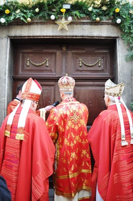 Deschiderea Anului Milostivirii în Catedrala din Oradea,