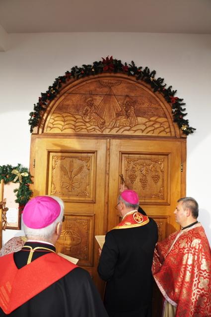Deschiderea Portii Sfinte la Simleu Silvaniei,
