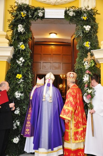 Deschiderea Portii Sfinte la Bazilica Romano Catolica din Oradea,