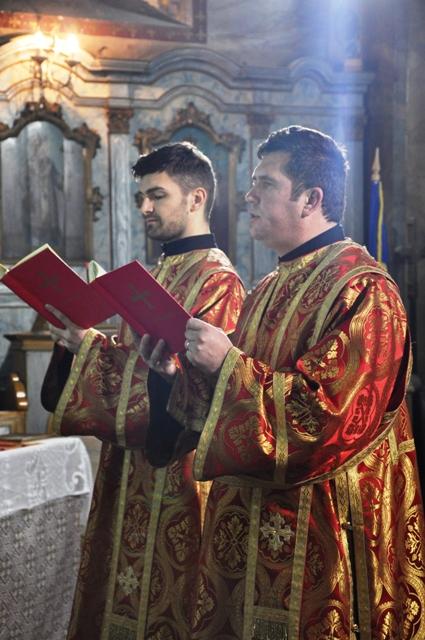 Vecernia arhiereasca în Biserica Seminarului,
