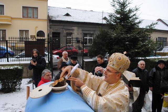 Sarbatoarea Botezului Domnului în Catedrala Sfântul Nicolae,