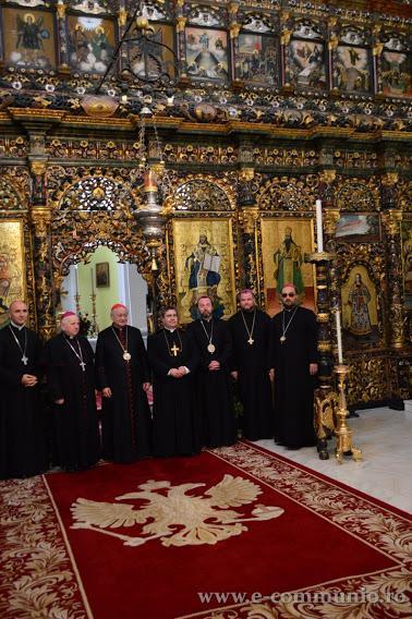 Vizita noului Nuntiu Apostolic la Blaj,