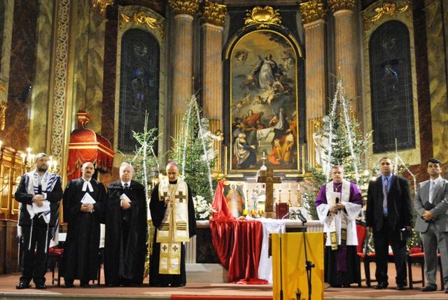 Octava de rugaciune pentru unitatea crestinilor: Bazilica Romano Catolica,