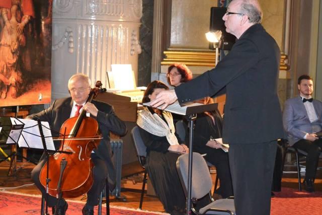 Concert vocal instrumental în Palatul Episcopal baroc,