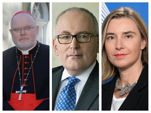Cardinalul Marx s-a întâlnit cu Vicepresedintele Comisiei Europene,