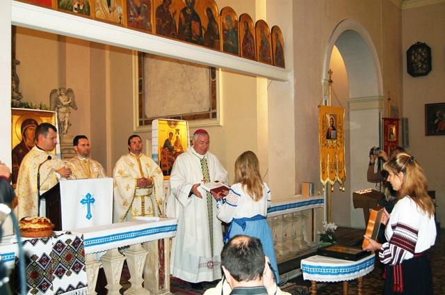 Vizita pastorala pentru greco-catolicii din Padova,
