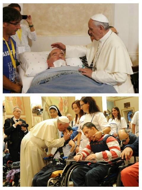 Invitatia Papei Francisc la rugaciune pentru cei bolnavi,