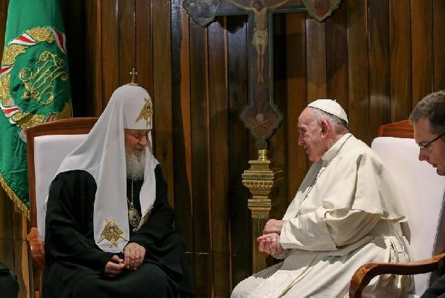 Papa Francisc în Cuba: colocviul cu patriarhul Kirill,