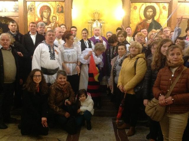 Episcopul Simone Giusti prezent în comunitatea româneasca din Livorno,