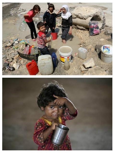 Patru miliarde de oameni sufera de sete,