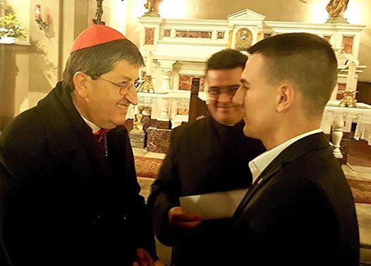 Vizita Cardinalului Giuseppe Betori în comunitatea româneasca din Firenze,