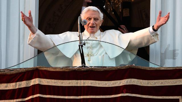 Ultimele cuvinte ale Papei Benedict al XVI-lea de acum trei ani,