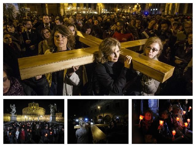Calea Crucii pentru femeile victime ale abuzurilor,