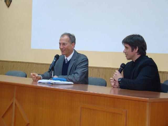 Conferinta la Seminarul Teologic din Oradea,