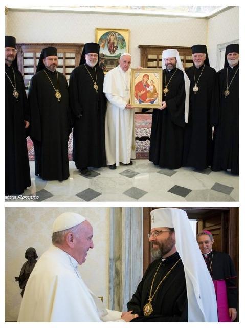"""Sviatoslav Shevchuk: ""Oamenii sufera, Sfinte Parinte, si asteapta îmbratisarea ta"""","