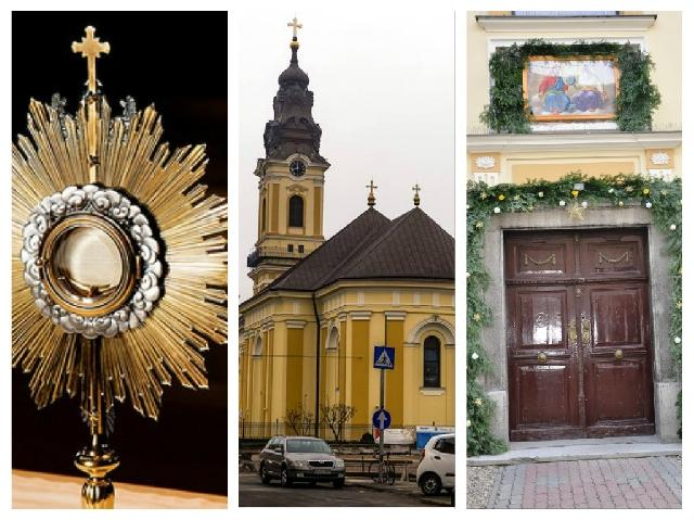 Invitatie: trecerea prin Poarta Sfânta si Adoratie,
