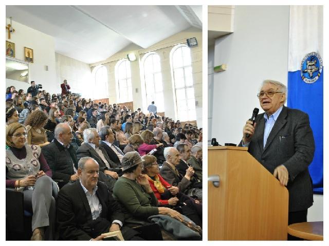Apararea si promovarea valorilor nationale – Nicolae Breban în conferinta la Oradea,