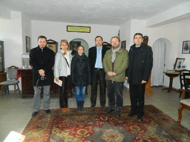 """""""Reprezentanti ai IICCMER, în vizita la Casa Memoriala """"Iuliu Maniu"""""""","""