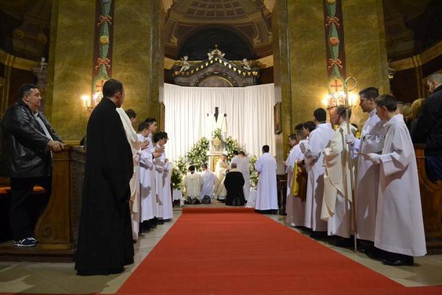 Viglia de Paste la Bazilica Romano Catolica din Oradea,