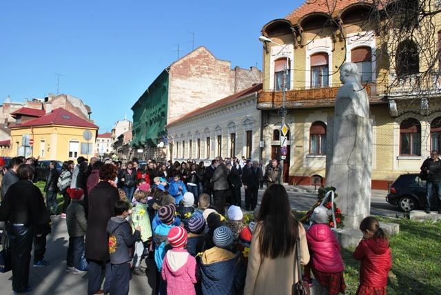 Iosif Vulcan comemorat la Oradea,