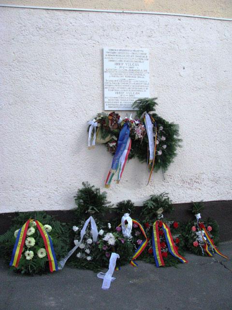 """""""Comemorare la Leta Mare (Létavértes), Ungaria"""","""