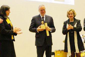 """Premio Umanesimo"" acordat domnului Andrea Riccardi,"