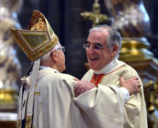 Hirotonirea noului Arhiepiscop si Mitropolit de Trento,