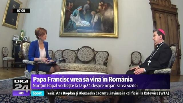 EXCLUSIV. Interviu cu Nuntiul Apostolic în România,