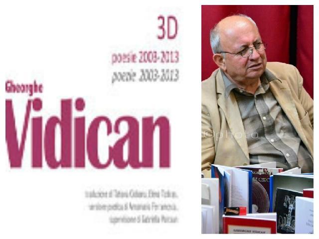 Gheorghe Vidican primul clasificat la cea de-a VIII-a editie a Premiului International pentru poezie,