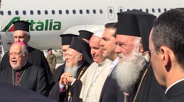 """""""Declaratia comuna a Papei Francisc, Patriarhului Bartolomeu si Arhiepiscopului Ieronim"""","""