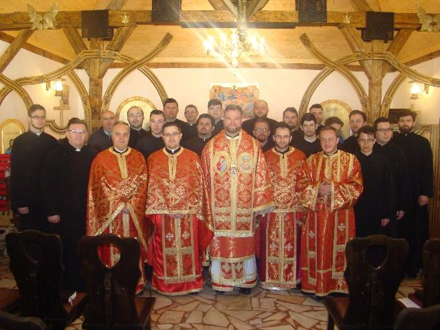 Reculegeri spirituale pentru seminaristii oradeni,
