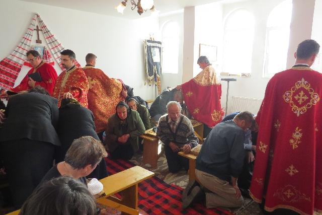 Taina Sfântului Maslu în Parohia Cizer,