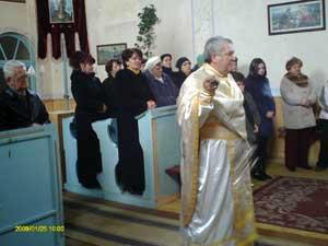 Biserica din Negru Gradinari a fost preluata,