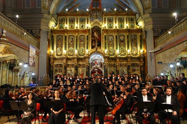 """Concertul """"Requiem-Parastas"""" în Catedrala Sfântul Nicolae,"""