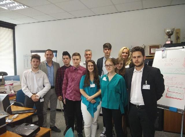 Elevii Liceului Greco-Catolic din Oradea în stagiu de practica la Roma,