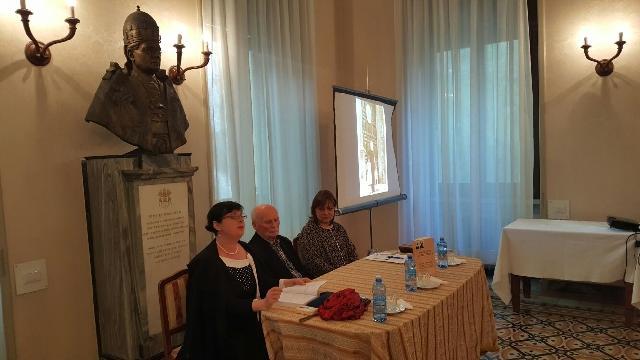 Prezentare de carte la Colegiul Pontifical Pio Romeno din Roma,