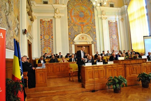 Zilele Academiei Române sarbatorite la Cluj,