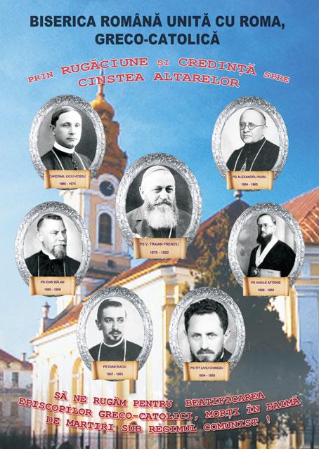 Circulara Preafericitului Lucian – sa ne rugam pentru beatificarea episcopilor greco-catolici martiri,