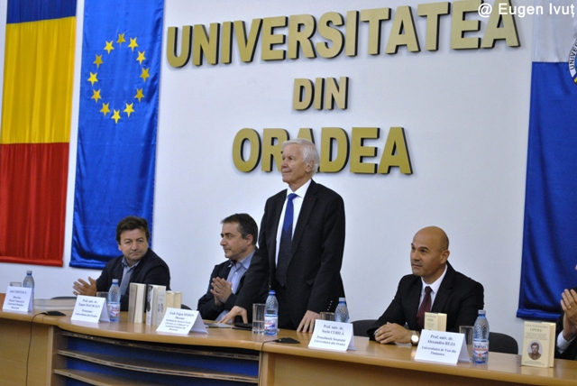 Academicianul Eugen Simion la Oradea,