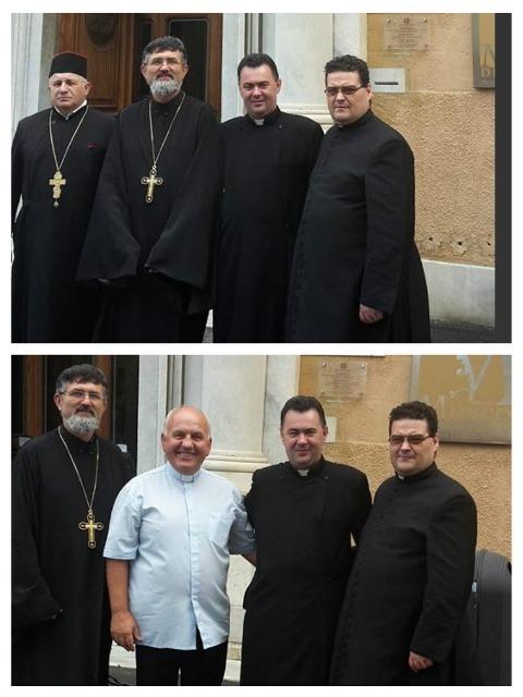 Comunicat: Înfiintarea de doua  Parohii personale  la Livorno,