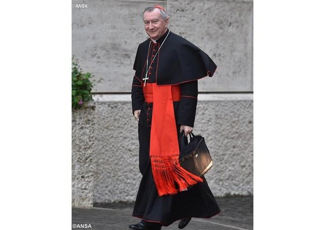Vizita cardinalului Pietro Parolin în Ucraina,