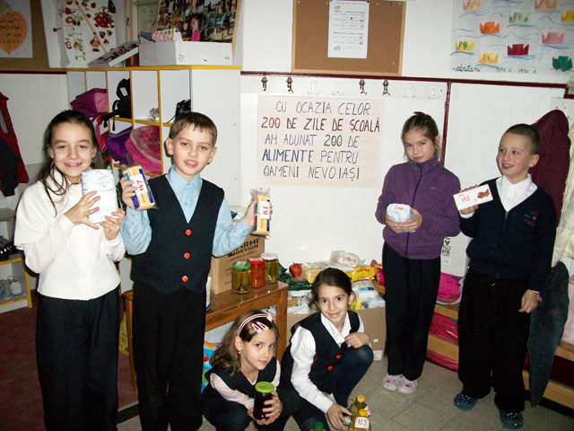 Comunicat Caritas – 200 de alimente,