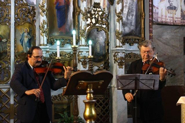 Concert în Biserica Seminarului,