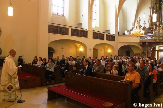 Vizita pastorala la Viena,