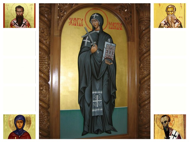 Pomenirea Sfintei Cuvioase Macrina,