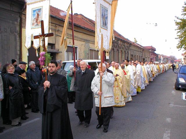 """Cinci ani de la retrocedarea Catedralei """"Sfântul Nicolae"""" din Oradea,"""