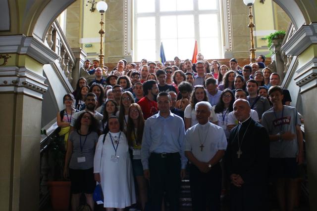 Tineri din Italia în vizita la Primaria Oradea,