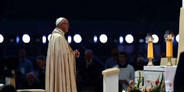 Discursul Papei la veghea de seara ZMT,