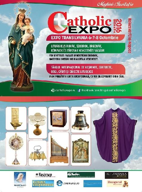 Invitatie: Târgul International Catholic Expo,
